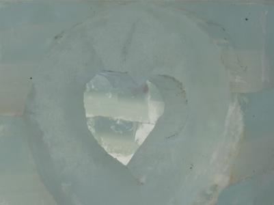 ice castle heart window