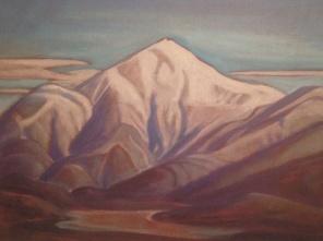 lauren stewart harris, mount washington, 1934,