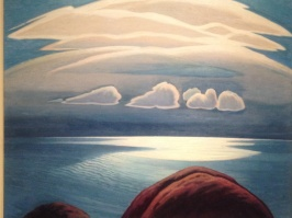 lauren stewart harris, lake superior, 1948